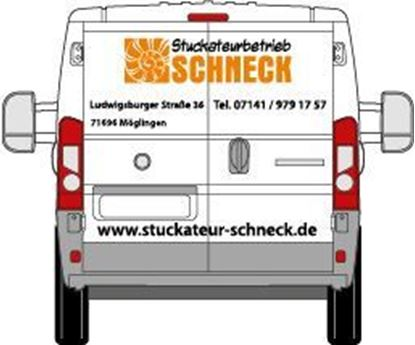 Picture of Beschriftung Transporter Heck
