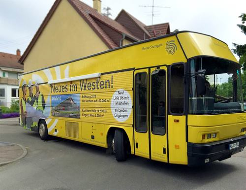 Picture of Omnibus - Beschriftung
